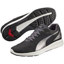 puma running shoes for men. image of puma ignite mesh men\u0027s running shoe - black periscope. instead shoes for men