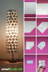 Recycling Tipp Lampenschirme Mit Origami Verschönern