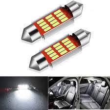 Mk5 Jetta Led Interior Lights Best Deal 36c8 2x Canbus C5w Led Bulb Festoon 36mm Car