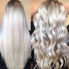 Platinum Hair Design Instagram Hotteshair Blonde Foils Ice Blonde Hair