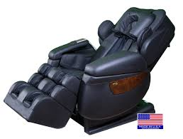 massage chair with speakers. irobotics i7 chair in black color massage with speakers