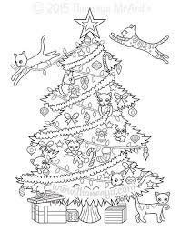 Christmas Coloring Book By Thaneeya Mcardle Thaneeyacom