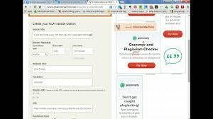 Make An Mla Website Citation Via Son Of A Citation Machine