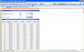 Amortization Schedule Calculator Amortization Schedule Calculator Excel Templates 1