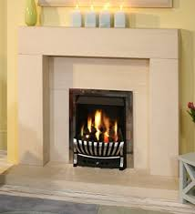 a contemporary fireplace manufactured in limestone a stylish yet simple fireplace this fireplace will make a fine addition to any room setting