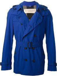 burberry brit short trench coat