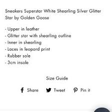 Golden Goose Shoe Size Chart Golden Goose Superstar Shearling Lined Sneakers 39 Nwt