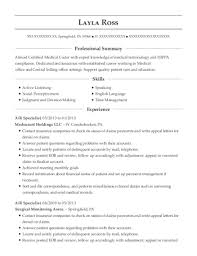 Medical Language Specialist Sample Resume