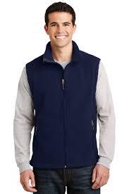 port authority value fleece vest mens jacket sleeveless