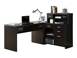 l shaped desks home office. monarch specialties hollowcore lshaped home office desk cappuccino l shaped desks s