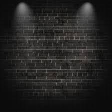 dark grey brick removable wallpaper