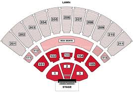 Toyota Amphitheater Detailed Seating Chart Toyota Amphitheatre Wheatland Ca Seating Chart View
