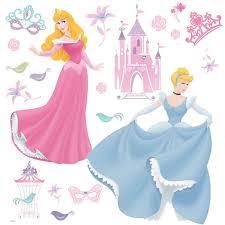 disney princess 19 large wall stickers