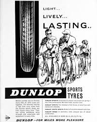 Dunlop Bike Light Dunlop Bicycle Tyre Advertisement From 1962 Bicycletyres