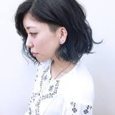 ショートさんの黒髪ポイントカラー10選 Hair