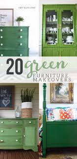 green painted furniture. green painted furniture makeovers n