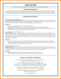 Nursing Curriculum Vitae Stunning 48 Cv Nurse Practitioner Theorynpractice