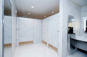 natural stone panel restroom partitions