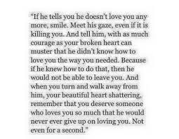 If He Says He Doesn't Love You Anymore Quotes Pinterest Love Awesome Quotes About Loving Someone Who Doesnt Love You Anymore