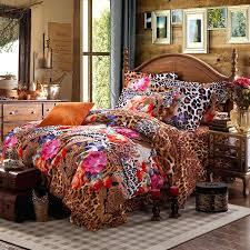 orange and brown bedding queen size fl comforter sets brown pink and orange y jungle safari orange and brown bedding