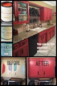 Red Kitchen Paint 17 Best Ideas About Red Kitchen Cabinets On Pinterest Red
