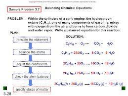 balancing chemical equations sample problem 3 7