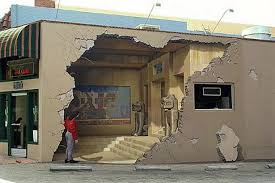 See pictures of the most amazing trick-of-the eye 3D wall art