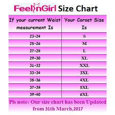 Feelingirl Mens Tummy Control Steel Boned Waist Trainer Workout Sport Shapewear Size 4xl Black