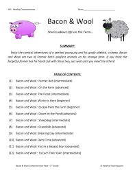 Reading Comprehension Worksheets For Third Grade. Reading ...
