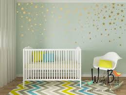 gold star stickers wall decals for baby girl or baby boy on stars nursery wall art with gold star stickers wall decals for baby girl or baby boy super tech