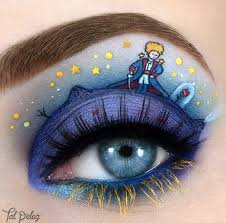 makeup artist tal peleg uses eyeshadow and eyeliner to paint mini scenes from s als and stories on her eyelids the best part of her work is