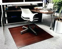 rug floor protector desk chairs best office chair mats for hardwood floors bamboo mat natural dark