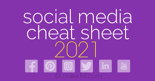 social a image sizes 2021 the