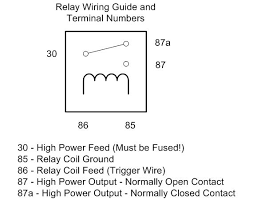 wiring diagram relay wiring diagram wiring headlight relays