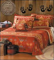 Drawing Inspiration From Native American Rock Paintings, The Rock Art  Bedding Collection Brings Together Beautiful