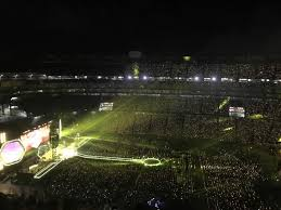 Gillette Stadium Section 309 Row 20 Seat 7 Coldplay Tour A