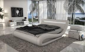 Modern White Bedroom Furniture Bed F Inside Inspiration