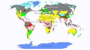 Topografie Wereld Klimaten - YouTube