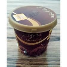 Kwality Walls Kwality Tub Divine Chocolate Ice Cream 100ml Pack