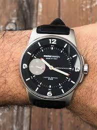 Momo Design Titanium Watch Momo Design Meccanico Hand Wind 46mm