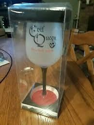 new disney villains evil queen goblet wine glass snow white hag 7