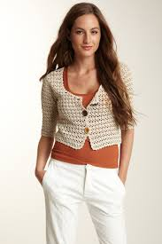 Knitted Dove Connie Crochet Cardigan Nordstrom Rack