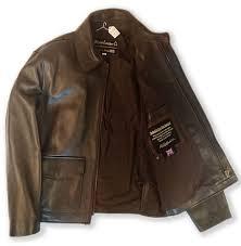 authentic indiana jones raiders of lost ark leather jacket in brown lambskin standard