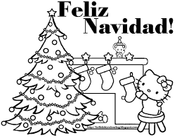 Merry Christmas Coloring Page Printable | cheminee.website