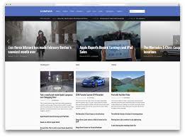 Style Template Top 50 News Magazine Wordpress Themes 2019 Colorlib