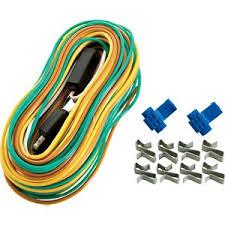 boat trailer lights wiring bass pro shops trailer wire harness 4 way