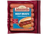 beef and bratwurst