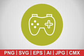 There are other vector file formats but svg is the most common and is the one that cricut uses for all its machines. 11 Joypad Icon Designs Graphics