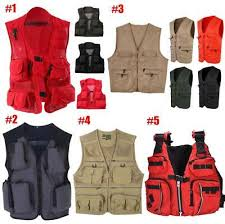 Men Multi-Pocket Fishing <b>Mesh Vest</b> Photography <b>Quick</b>-<b>Dry</b> Jacket ...
