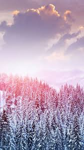 winter wallpaper for iphone 6. Brilliant Wallpaper Winter Snow Trees Mountains Forest Sky Clouds IPhone 6 Plus Wallpaper  With Wallpaper For Iphone 6 E